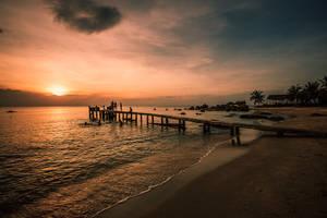 Sunset over Phu Quoc by Stefan-Becker