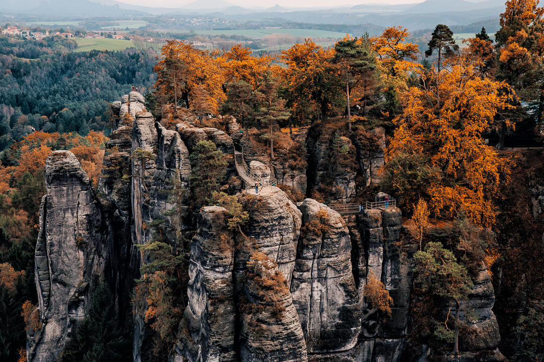 Bastei - Germany by Stefan-Becker