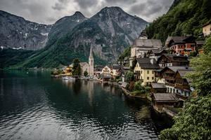 Hallstatt, Austria by Stefan-Becker
