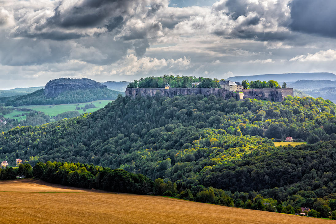 Koenigstein Fortress - Germany by Stefan-Becker