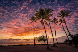 Sunrise over Jambiani - Zanzibar by Stefan-Becker
