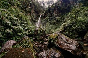 Sedang Gile Waterfall - Lombok by Stefan-Becker