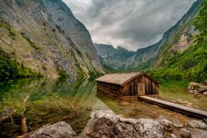 Obersee, Berchtesgaden by Stefan-Becker