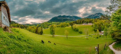 Mountain site, Berchtesgaden by Stefan-Becker
