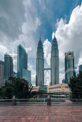 Petronas Towers by Stefan-Becker