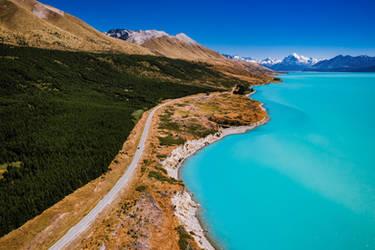 Lake Pukaki - New Zealand by Stefan-Becker
