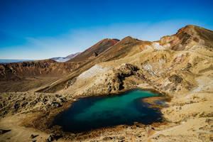 Tongariro Alpine Crossing Trail by Stefan-Becker