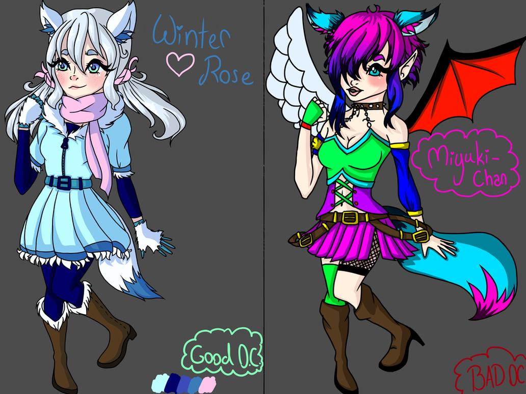 Good Anime Character Design : Good oc design vs bad by kittazzi on deviantart