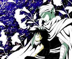 Piccolo and Gohan by Shima-Suzuko