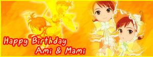Happy Birthday Ami + Mami Sig
