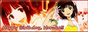 Amami Haruka Birthday Banner 3