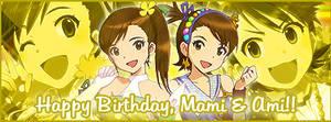 Futami Ami and Mami Banner 3
