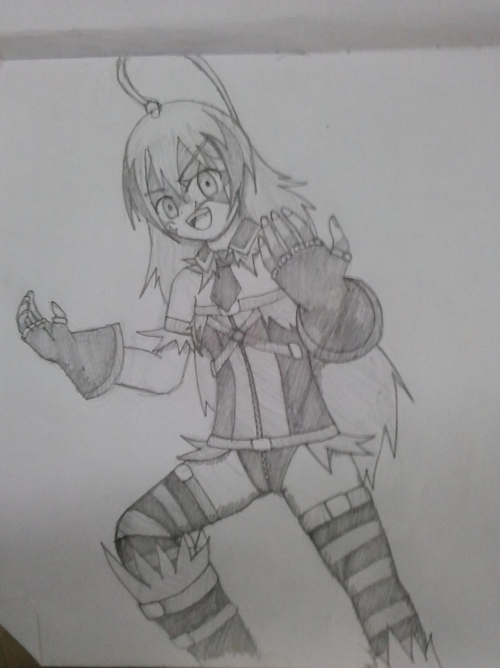 Crazed Syoko Sketch