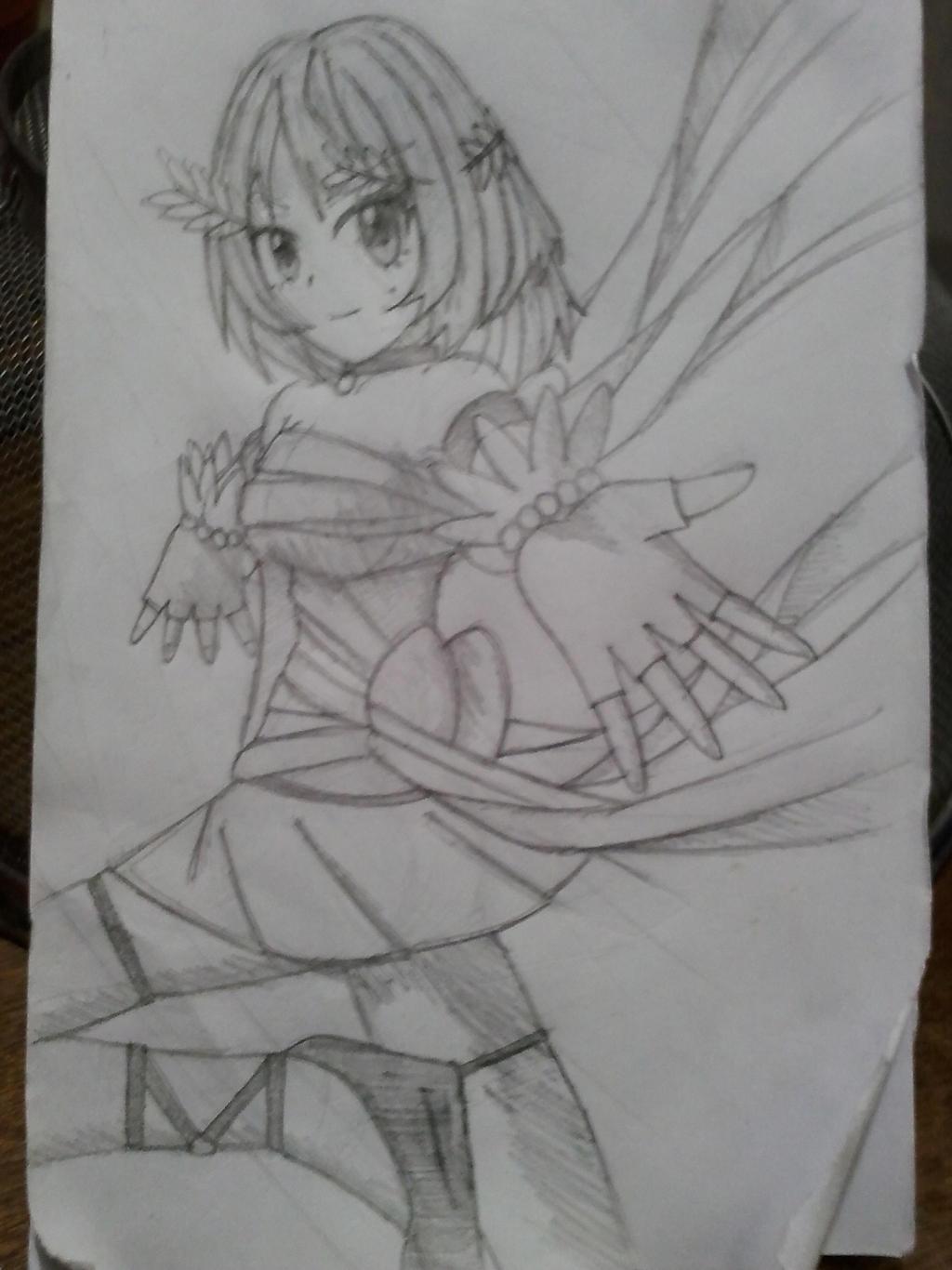 Goddess Kaede Sketch