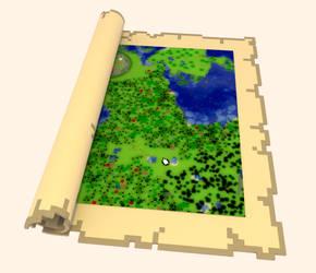 minecraft map by Elcruellfable