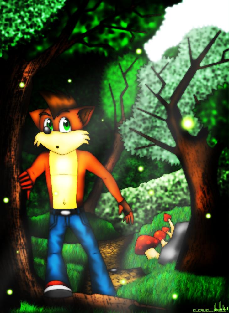 Crash Bandicoot by Elcruellfable