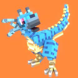 a cubic dinodragon