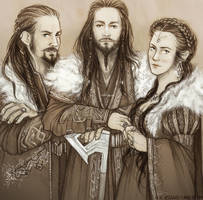 The Hobbit: Thrain's Sons by kaetiegaard