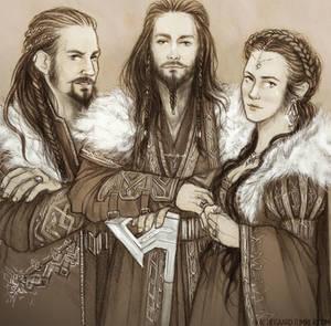 The Hobbit: Thrain's Sons
