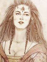 Dis, daughter of Thrain by kaetiegaard