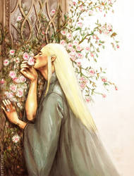 Sweet Roses of Mirkwood by kaetiegaard