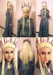 The Hobbit: Thranduil Cosplay by kaetiegaard
