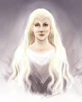 Galadriel, the Lady of Light by kaetiegaard