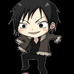 izaya stomps cellphone by CCann