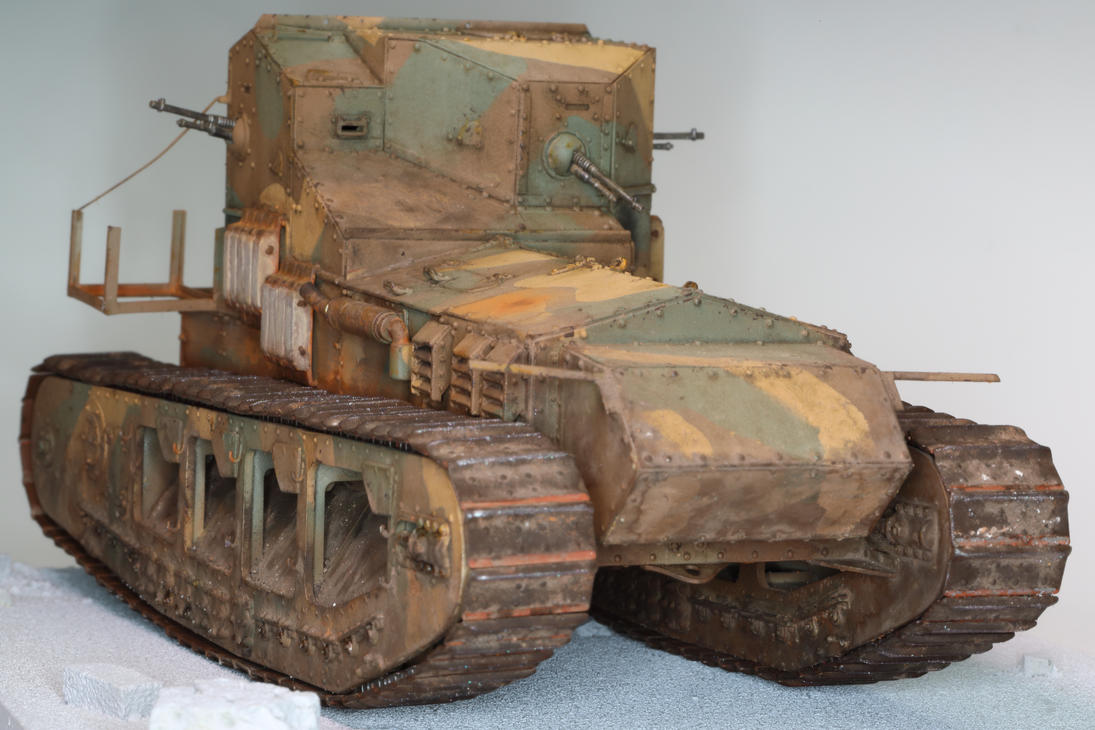 WWI Mk A Whippet by motivator