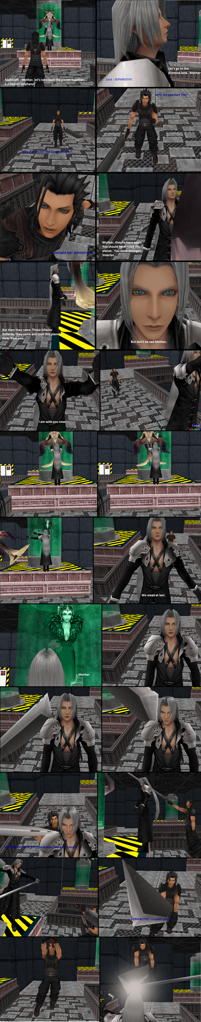 Sephiroth's Betrayal for Heleannor's Contest by ShadowRoseVIII