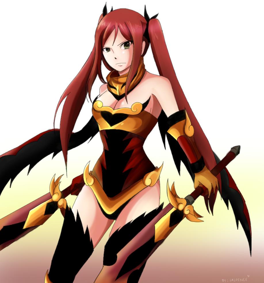 Fire Empress Armor by MegalowFairy Tail Erza Flame Empress Armor