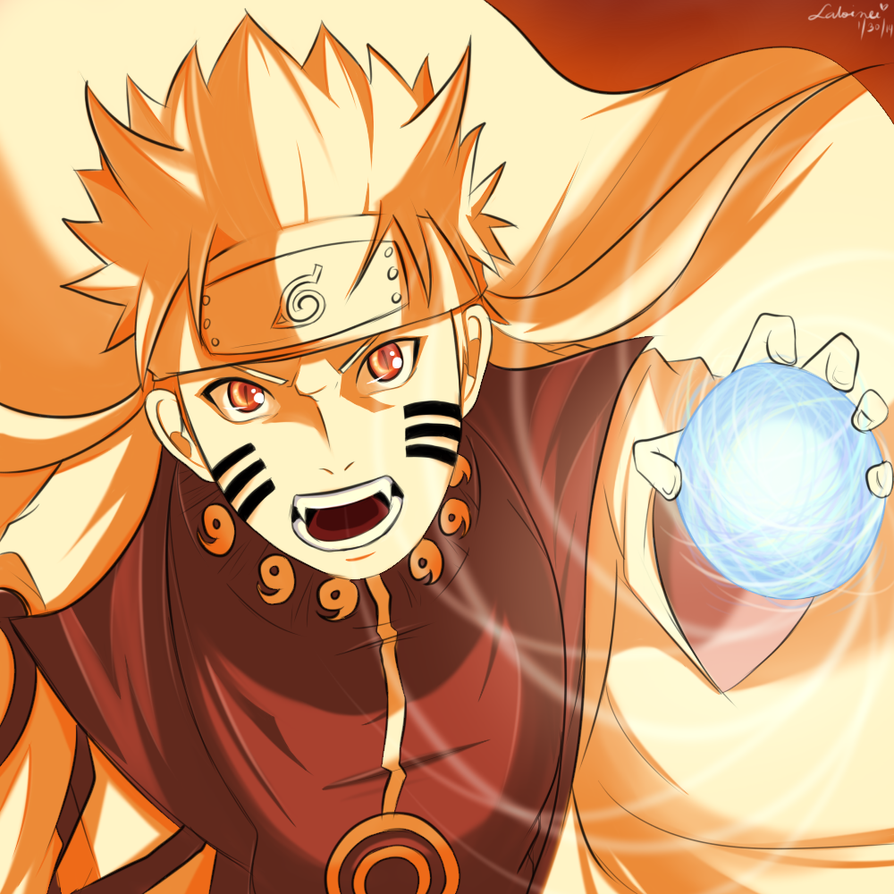 Naruto Kurama Mode Wallpapers Group 67: Uzumaki Naruto Kyuubi Mode By Megalow On DeviantArt