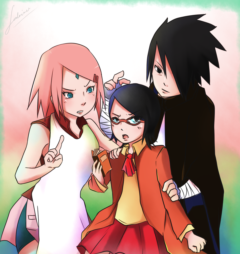 Uchiha Family By Megalow On DeviantArt