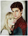 The Amazing Spider-Man~Peter Parker and Gwen Stacy