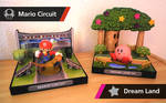 Amiibo Displays stands - Super Smash Bros. Stage