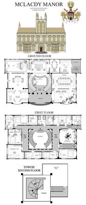 HOUSE PLAN OF MCLACDY MANOR (HP)