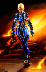 Zero Suit Samus Unleashed by Th4rlDEAL