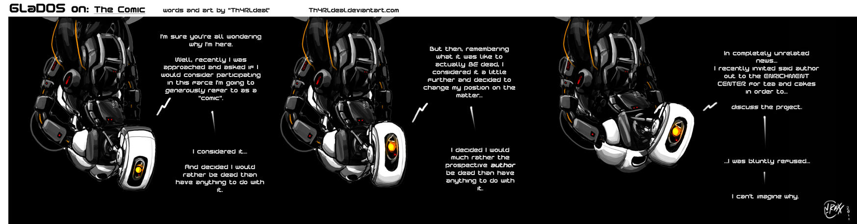 02 GLaDOS on: The Comic by Th4rlDEAL