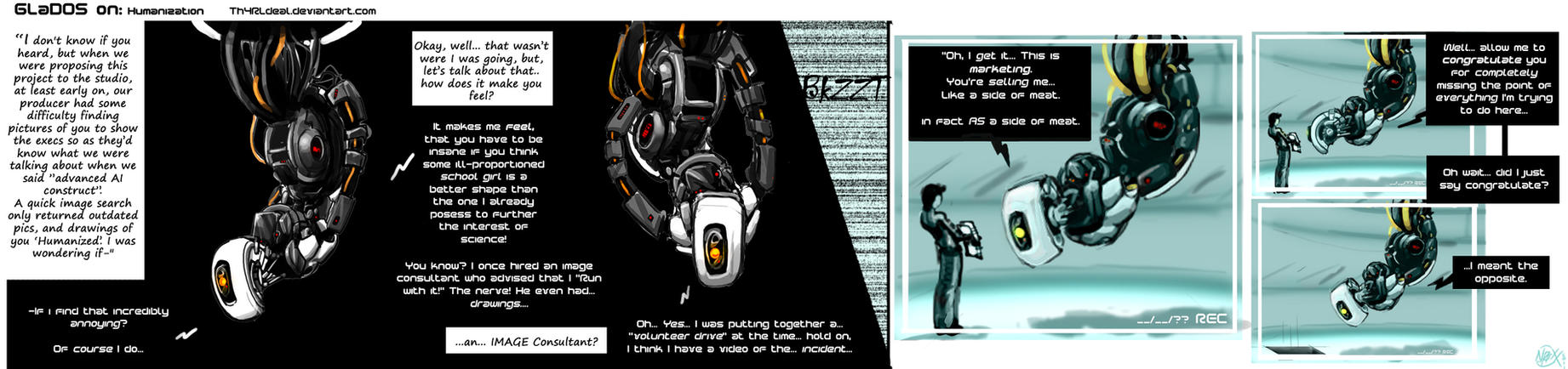 03 GLaDOS On: Humanization by Th4rlDEAL