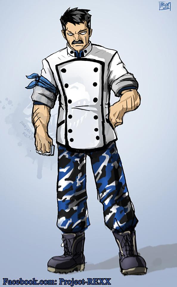 One Piece OC: Zeke 2 by Th4rlDEAL