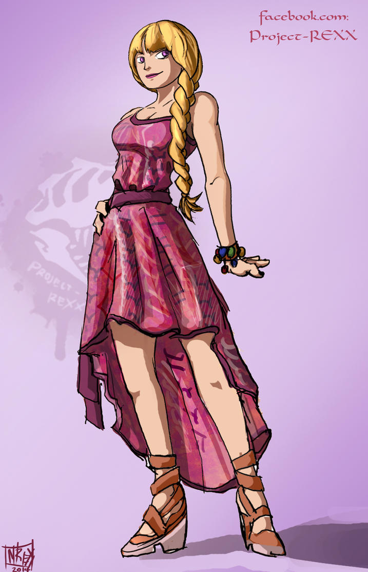 One Piece OC: Abbi Version 2 by Th4rlDEAL