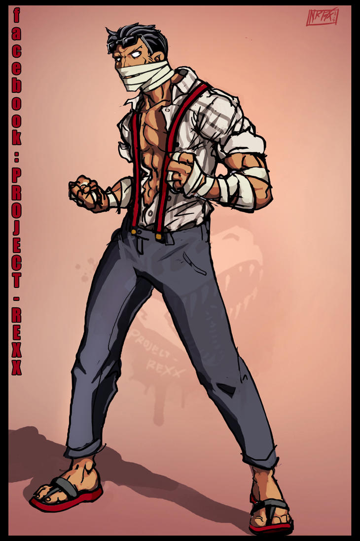 One Piece RP OC: Tyler Bronson 2 by Th4rlDEAL