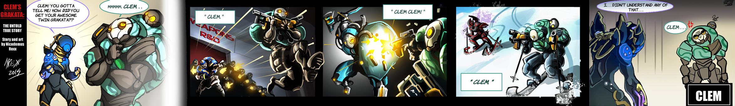 Clem's Grakata: The Untold True Story by Th4rlDEAL