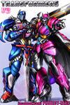 Transformers Commission: Optimus Prime and Rixia