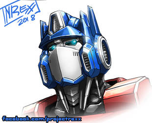 Livestream 2: Optimus Head Full colors by Th4rlDEAL