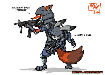 Livestream 20: Zootopia - 'Watch My Back' by Th4rlDEAL