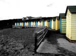 The Huts at Summerleaze Beach
