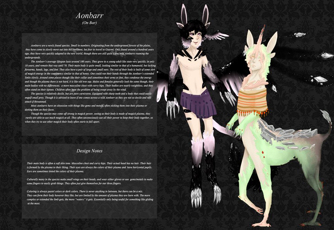 Aonbarr Race Sheet by Nekyua