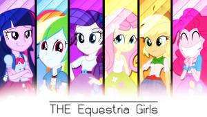 The Equestria Girls . 2560 x 1440 HD Wallpaper