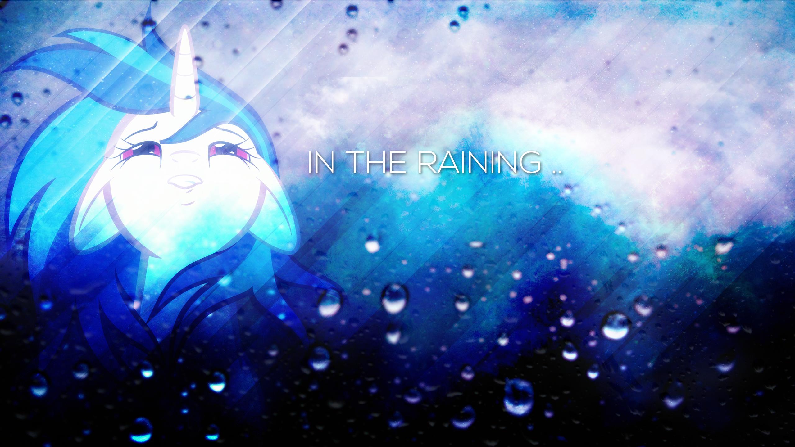 In the Raining . 2560 x 1440 HD Wallpaper